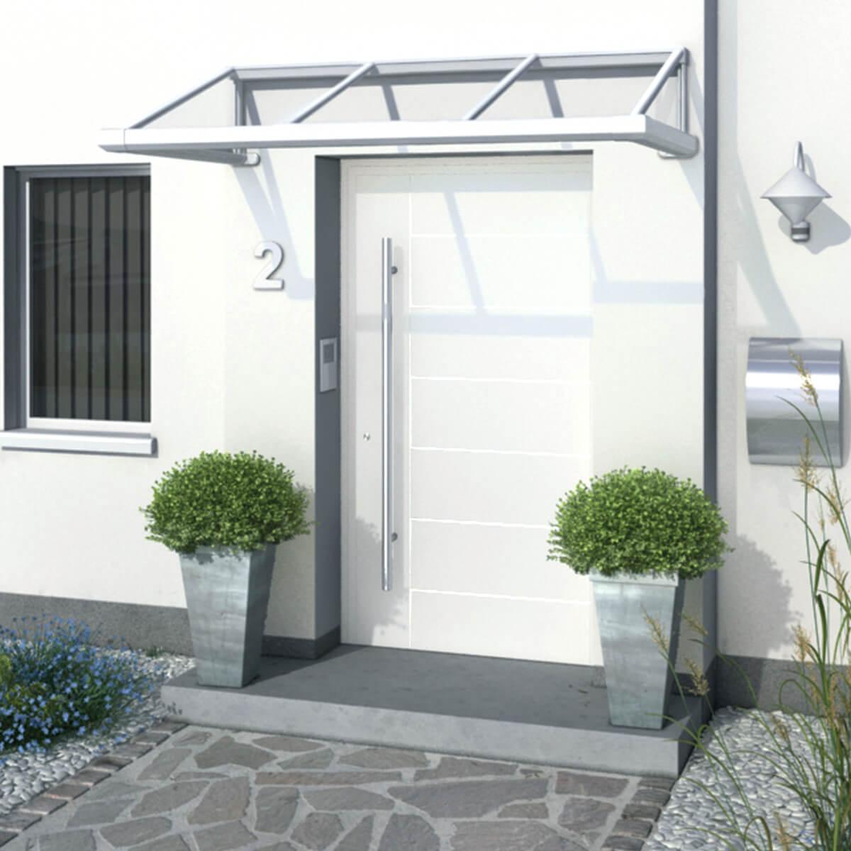 Glasdach-Eingang