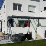 3 SAP Metallbau Ariane Terrasse Himberg 4x3 montage 2